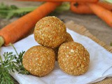Raw Vegan Carrot Cake Bites