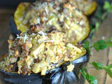 Recipe Repeat: Sausage and Apple-Stuffed Acorn Squash