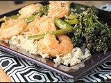 Sesame-Orange Shrimp + Weekly Menu