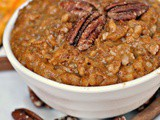 Slow Cooker Pumpkin Pie Steel Cut Oats