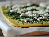 Spinach and Goat Cheese Rolled Omelet + Weekly Menu