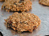 Vegan and Gluten-Free Good Morning Breakfast Cookies + Weekly Menu
