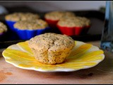 Vegan Lemon Poppy Seed Muffins & Happy Mother's Day