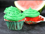 Watermelon Cupcakes {a Virtual Baby Shower for Krystal!}