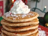 Whole Wheat Peppermint Pancakes