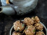 Almond Butter & Oats Balls