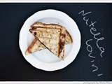 Croque-Monsieur with Nutella & Peer