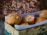 Healthy Pumpkin & Cranberry Muffins