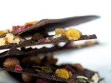 Homemade Food Gift Idea: Dried Fruit & Nuts Chocolate
