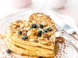 Oatmeal & Almond Love Pancakes