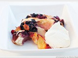 Peach & Blueberry Cobbler