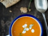 Sweet Potato & Roasted Pepper Soup