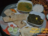 Lunch/Dinner Recipe Ideas - Menu no 2- Punjabi tadka