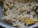 Recipe : Restaurant Style Jeera Rice , how to make jeera rice