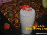 Recipe : Strawberry Lassi| How to make Strawberry Lassi