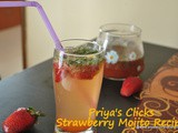 Recipe : Strawberry Mojito, how to make Virgin strawberry mojito