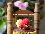 Chocolate Banana Cupcake