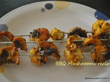 Barbecue Mushroom Recipe , how to make bbq mushroom at home