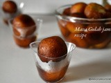 Mava Gulab jamun recipe, how to make gulab jamun with khoya/mava