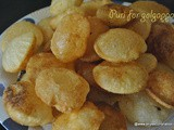 Puri for panipuri recipe Method 2,how to make golgappa puri using soda water