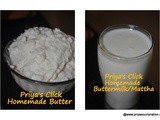 Recipe : White butter,Mattha from Curd |how to make White butter from curd