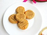 Almond Oats Cookies