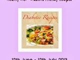 Announcing Healthy Diet-Diabetic Friendly Recipes