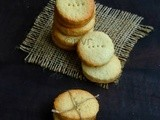 Biscuit Sablés/Eggless French Shortbread Biscuits
