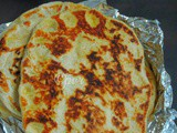 Buttery Orange Flavoured Sweet Naan