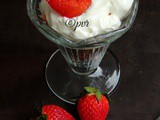 Cookies & Strawberries Trifle