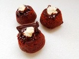 Eggless Cauldron Cakes