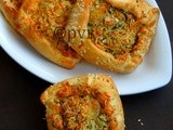 Eggless Flaounes/Cypriot Savoury Easter Cheese Pies