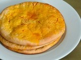 Eggless Sheermal/Shirmal - Saffron Flavoured Flatbread