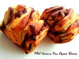 Mini Nutella Pull Apart Bread