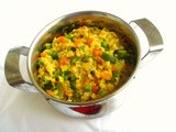 Oats,Mixed Veggies & Moongdal Khichdi