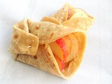 Peanut Butter, Honey & Apple Wrap
