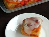 Strawberry Rolls with Cream Cheese & Lemon Glaze/Rolls aux Fraises et Glaçage Crémeux au Citron