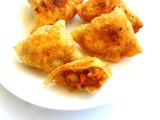 Tofu & Mixed Veggies Samosa