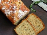 Vegan No Knead Rosemary & Flaxseed Whole Wheat Bread/No Knead 100% Whole Wheat Loaf