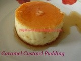 Caramel Custard Pudding/ Mexican Flan - Happy Valentine's Day