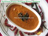 Chettinad Kara Chutney/Kara Chutney Recipe/ChettinadOnion &Tomato Kara Chutney/Spicy Red Chutney Recipe