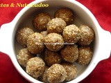 Dates & Nuts Ladoo Recipe/Dates Ladoo Recipe/பேரிச்சம் பழம் லட்டு – Dates Ladoo without Sugar or Jaggery/How to make Dates & Nuts Ladoo with step by step photos/Easy Diwali Sweet