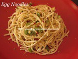 Egg Noodles/Easy Egg Noodles Recipe