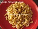 Garlic-Buttered Pasta Recipe – Quick Fix Pasta for Lunch/Dinner