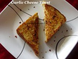 Garlic Cheese Bread Toast Recipe/Garlic Cheese Toast on Tawa with step by step photos