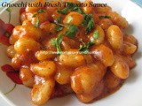 Gnocchi with Fresh Tomato Sauce