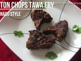 Mutton Chops Tawa Fry Recipe/Mutton Chops Recipe/Mutton Chops Varuval/Easy & Quick Mutton Chops Recipe/How to make Mutton Chops with step by step photos & Video