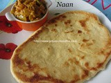 Naan/How to Make Naan At Home/Naan Recipe [On Stove Top]