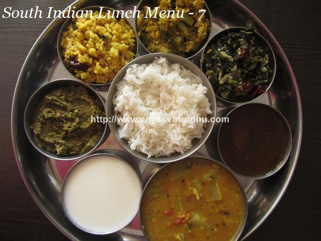 Very Good Recipes Of Lunch And South Indian