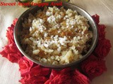 Sweet Aval Recipe/Inippu Aval Recipe/Sweet Aval with Jaggery/Vella Aval/Sweet Poha Recipe with Jaggery/Flattened Rice/Beaten Rice Sweet Recipe